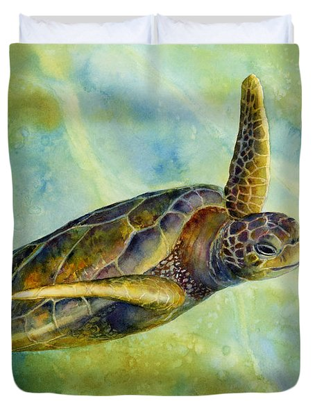 Sea Turtle 2 Duvet Cover