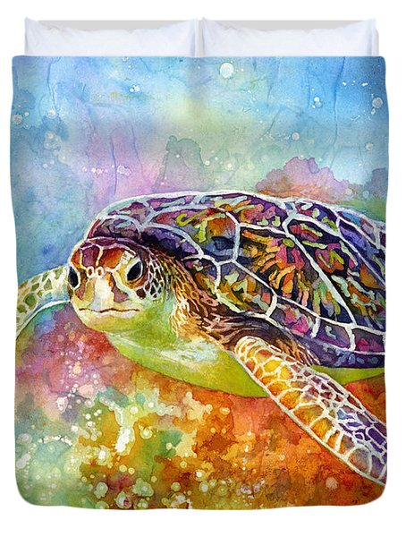 Sea Turtle 3 Duvet Cover