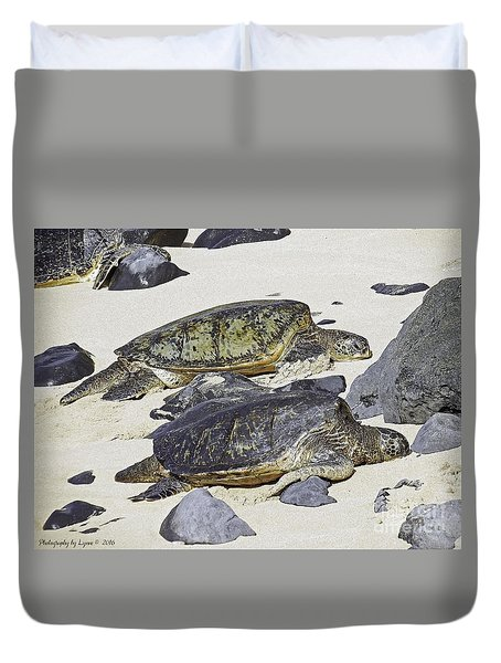 Sea Turtles Duvet Cover