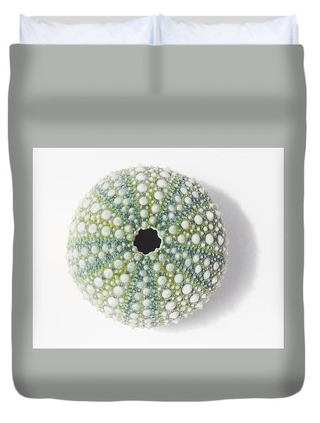 Duvet Cover featuring the photograph Sea Urchin by Jocelyn Friis