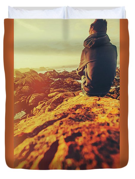 Sea Vacation Wonders Duvet Cover
