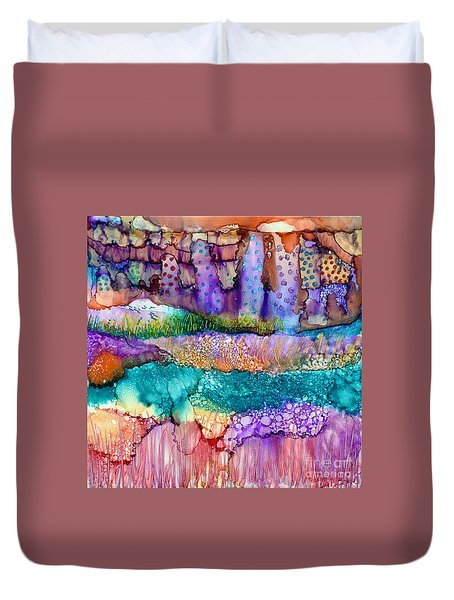 Sea Wall Duvet Cover