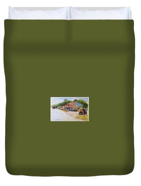 Seaberry Surf Gifts, Wellfleet Duvet Cover by Peter Salwen