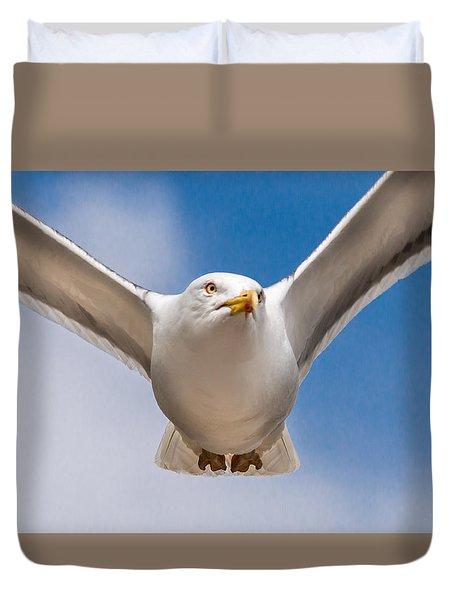Seabird Closeup Duvet Cover