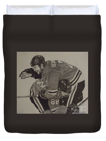 Seabs Scores The Winner Duvet Cover