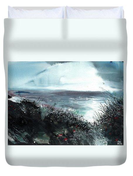 Seaface Duvet Cover