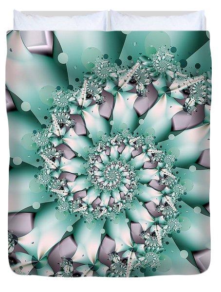 Seafoam Spring Duvet Cover