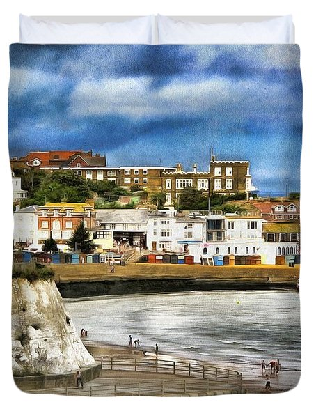 Seafront Broadstairs Kent Duvet Cover