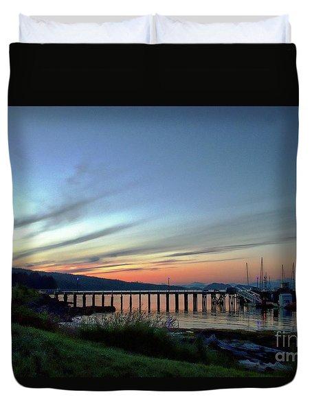 Seagate Pier Duvet Cover