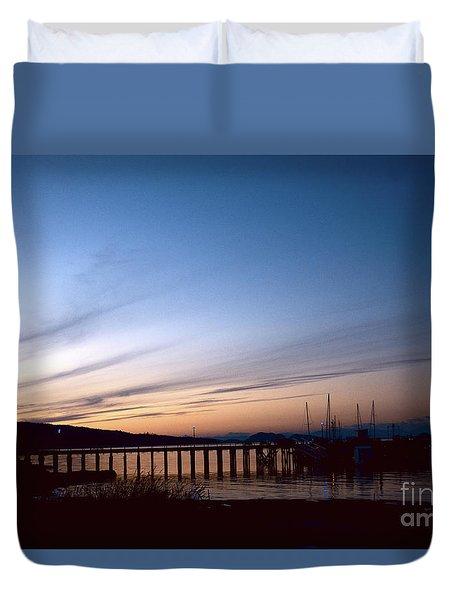 Seagate Pier II Duvet Cover
