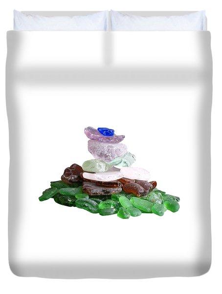 Seaglass Pyramid Duvet Cover