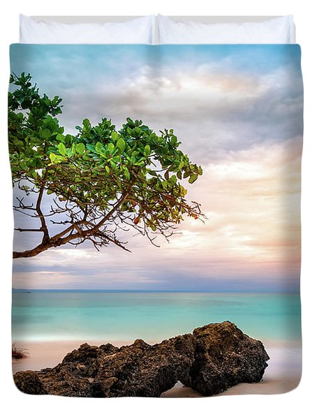 Seagrape Tree Duvet Cover