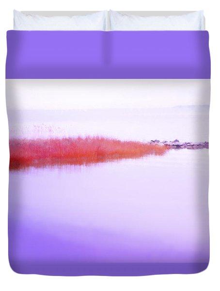 Seagrass Sandbar Duvet Cover