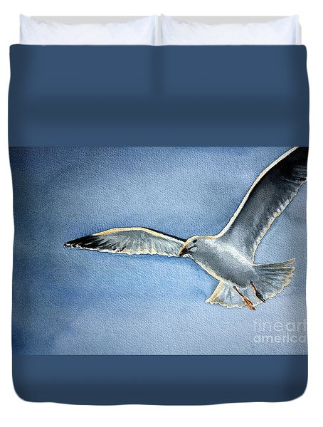 Seagull Duvet Cover by Eleonora Perlic