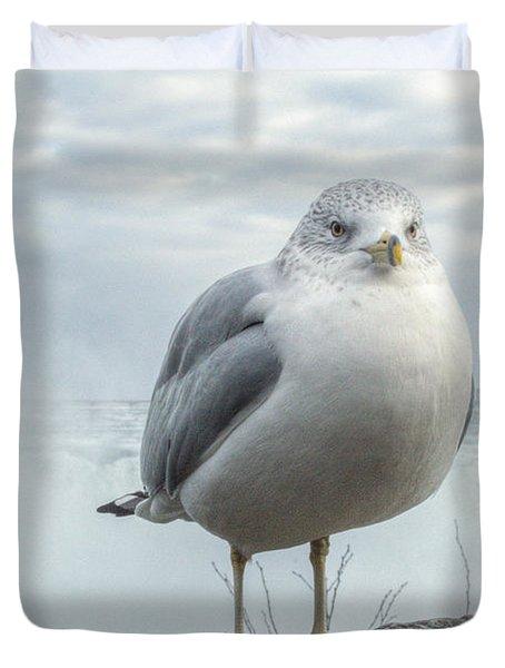 Seagull Model Duvet Cover