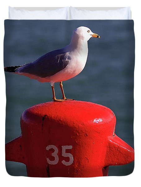 Seagull Number 35 Duvet Cover