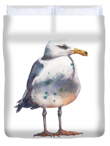 Seagull Print Duvet Cover