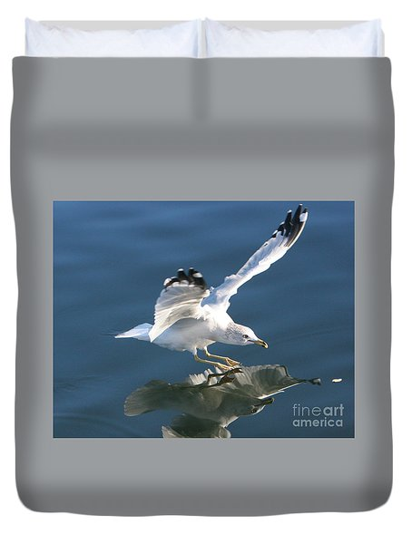 Seagull Reflection Duvet Cover