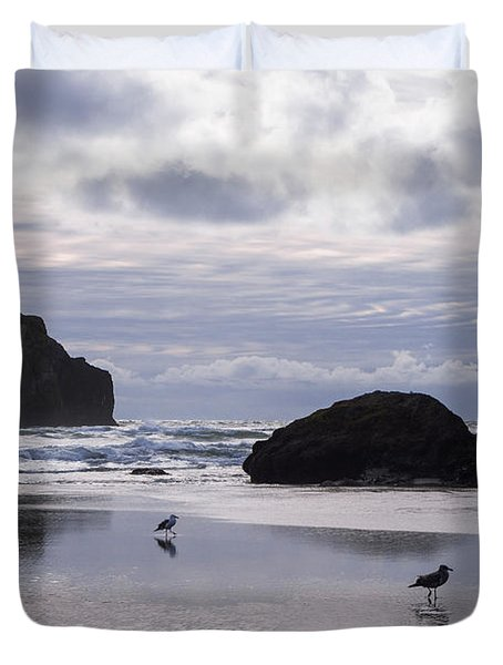 Seagull Reflections Duvet Cover