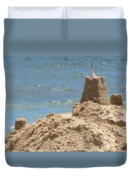 Seagull Sandcastle II Duvet Cover