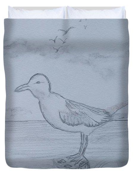 Seagull Stump Duvet Cover