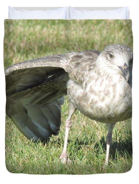 Seagull Yoga Duvet Cover