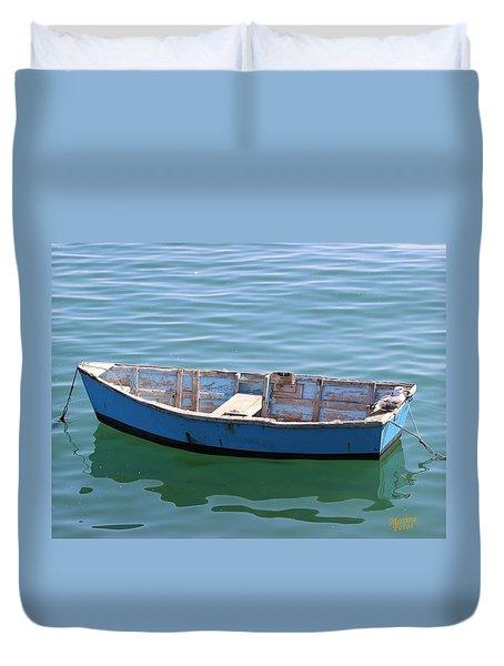 Seagull's Boat Duvet Cover
