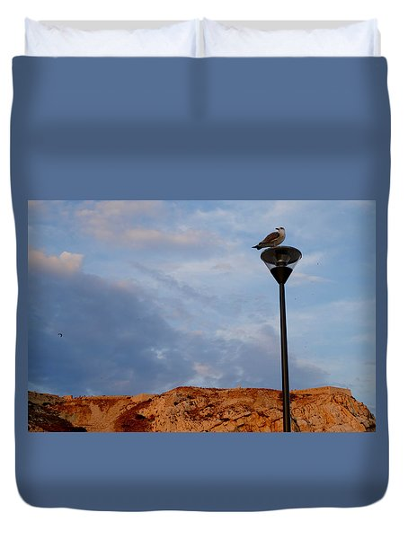 Seagull's Post Duvet Cover