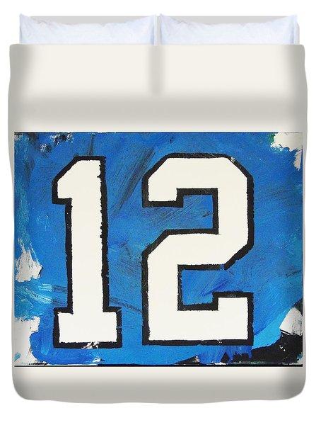 Seahawks Fan Duvet Cover