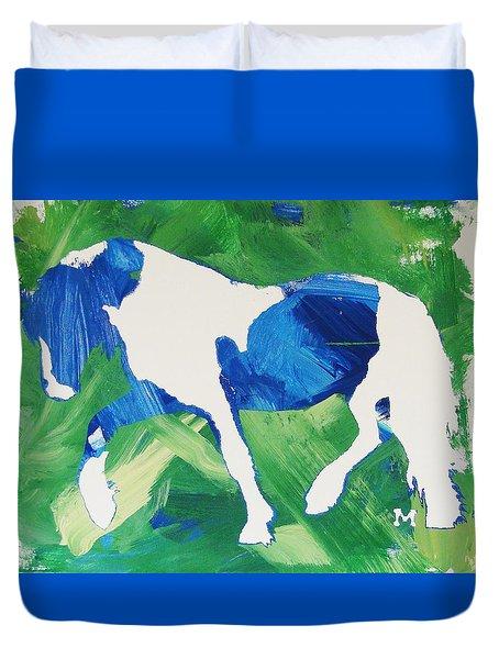 Seahawks Horse Duvet Cover