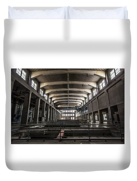 Seaholm Power Plant Duvet Cover