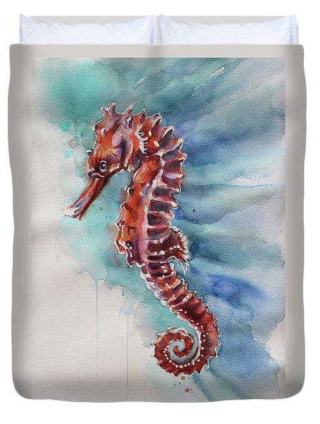 Seahorse 2 Duvet Cover