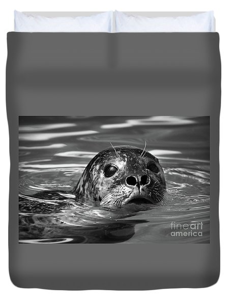 Seal In Water Duvet Cover