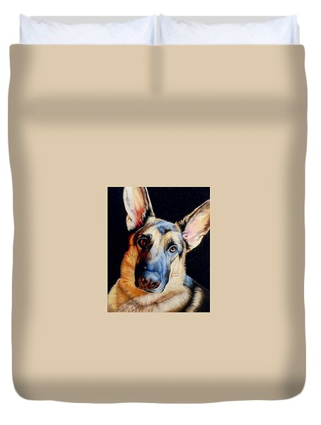 Seamus Duvet Cover by David Hoque
