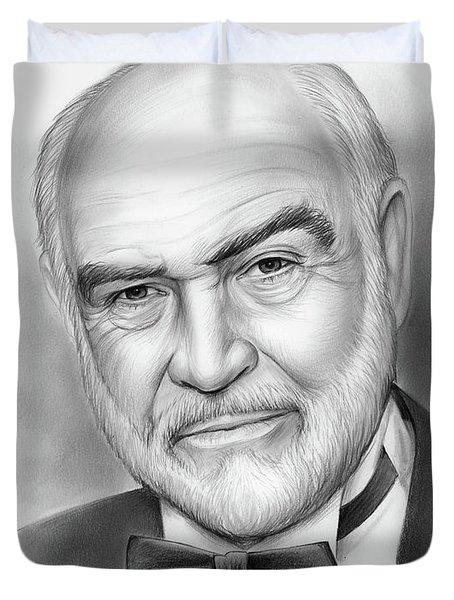 Sean Connery Duvet Cover