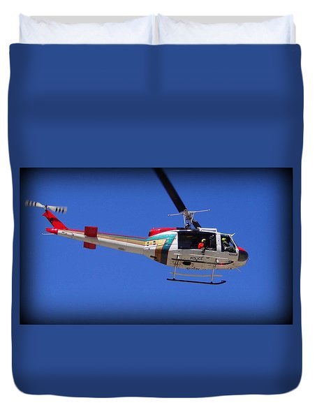 Search And Rescue Mission Duvet Cover