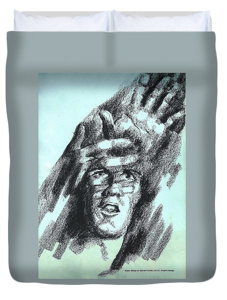 Search For Self Duvet Cover