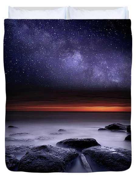 Search Of Meaning Duvet Cover by Jorge Maia