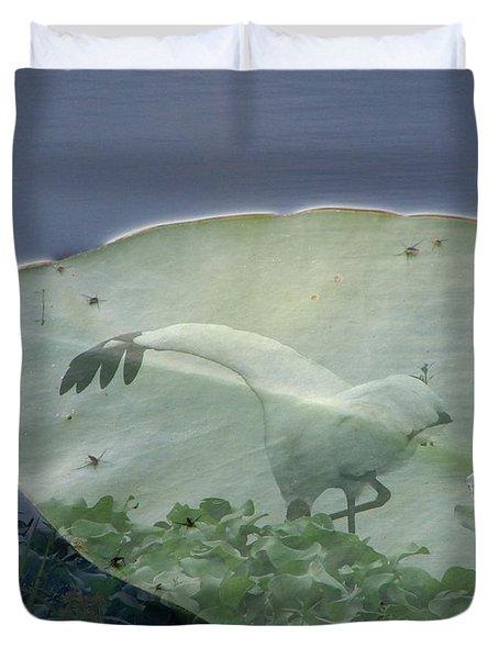 Search Duvet Cover by Priscilla Richardson