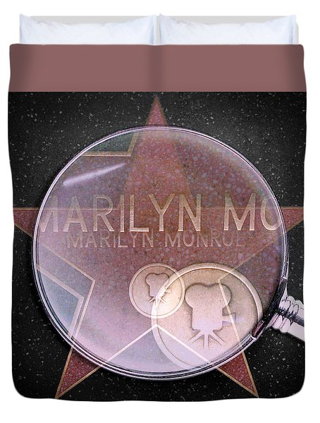 Searching For A Star Duvet Cover
