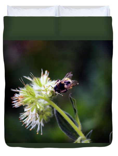Searching For Pollen Duvet Cover