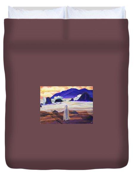 Sea Dog Duvet Cover