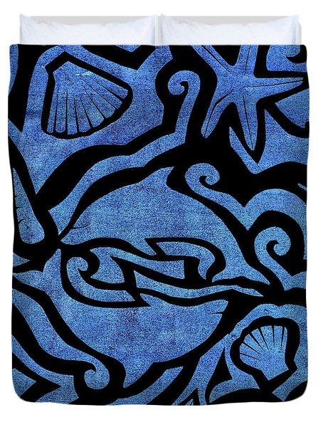 Seascape Cut-out Duvet Cover