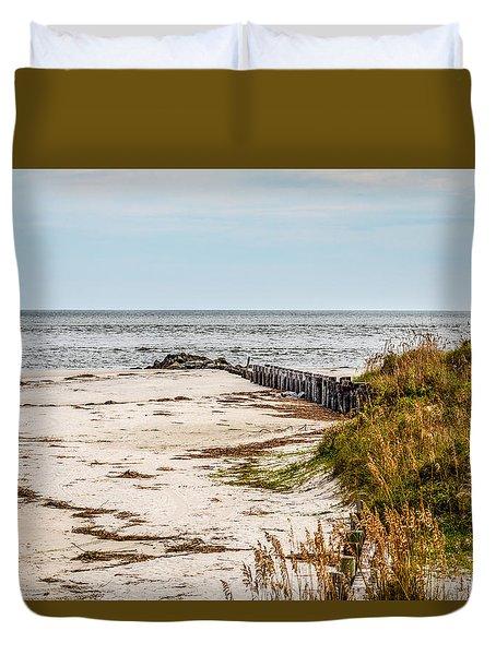 Seascape Duvet Cover by Doug Long