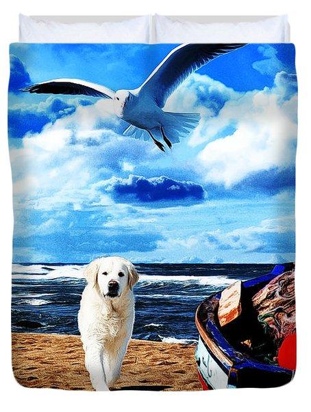Seascape - Paesaggio Marino Duvet Cover