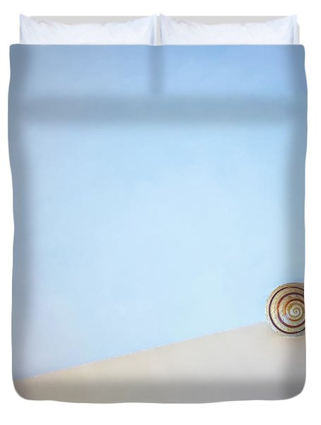 Seashell By The Seashore Duvet Cover