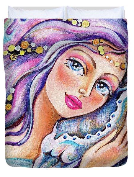 Seashell Reverie Duvet Cover