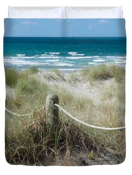 Seaside Beach Ropes Duvet Cover
