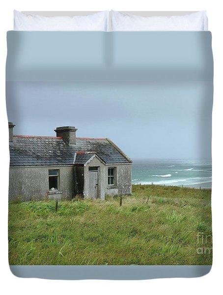 Seaside Cottage Belmullet Duvet Cover