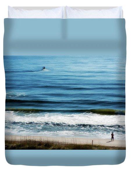 Seaside Fisherman Duvet Cover